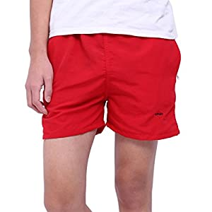 Sasairy Men's Swimming Shorts Casual Outdoor Trunks & Elasticated Drawstring with Pockets - S