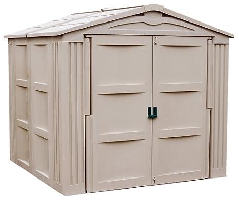 amazoncom suncast 7 9 34 x 7 10 34 storage shed garden outdoor