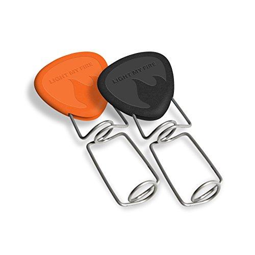 Light My Fire Grandpas FireFork Campfire Roasting Accessory, 2-Pack, Black/Orange