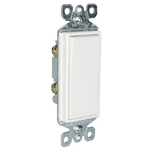 Price comparison product image Legrand - Pass & Seymour radiant TM870WSLCC10 15 Amp Single Pole Paddle Switch with Locator Light,  White