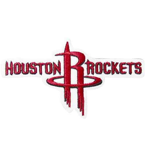 Houston Rockets Primary Team Logo Patch (Houston Rockets Team Logo Patch)