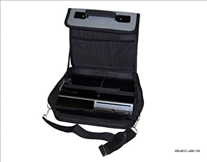 Sony Playstation 3 PS3 Gris y Negro Bolsa de Transporte para Consola/Funda. También para Uso de Coche.: Amazon.es: Electrónica