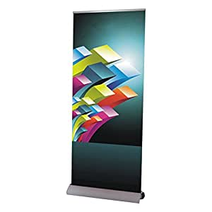 Alta calidad desmontable Base Roll Up Banner Stand (39cm W x 95cm H)