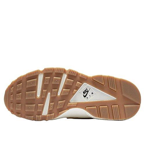 Nike Womens Air Huarache Run Premium Farina Davena 683818-102 Bianco-beige