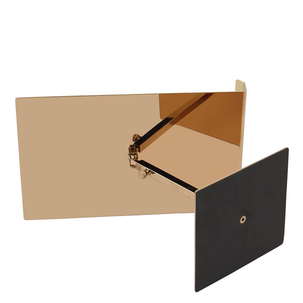 Tenedor de la exhibición del Tablero del del del Soporte del Aviso del Soporte de la exhibición del Cartel del Soporte de la Muestra del menú del Estante de Publicidad (Color : La Plata) f160f4