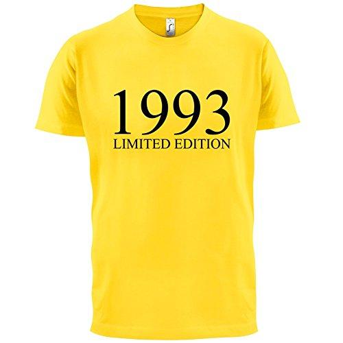 1993 Limierte Auflage / Limited Edition - 24. Geburtstag - Herren T-Shirt - Gelb - XXL