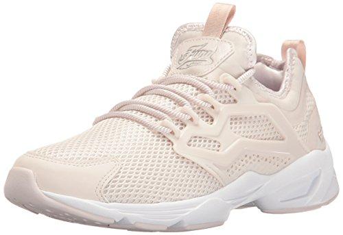 Reebok Women Fury Adapt Graceful Fashion Sneaker Lilac Ash/Silver Met/White