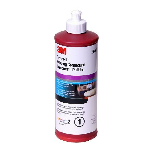 3M 39060 Perfect It Rubbing Compound 16oz (2 Pack)