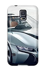 Faddish Phone Bmw I8 Spyder Concept Car Case For Galaxy S5 / Perfect Case Cover
