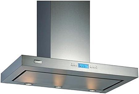 CATA SELENE 850 m³/h Plata - Campana (850 m³/h, Canalizado/Recirculación, 35 dB, Plata, 35 W, 2 bombilla(s)): Amazon.es: Hogar