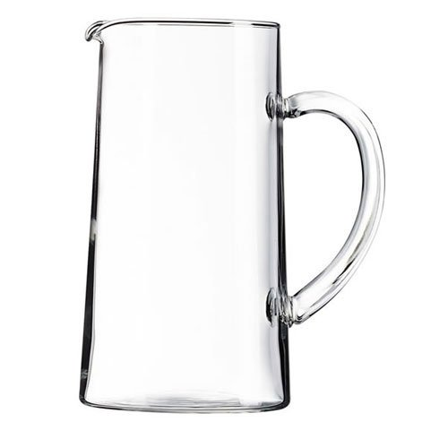 James Scott Glass Pitcher With Pour Lip -7 7/8 x 4 1/4 (Shannon Water Pitcher)