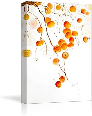 Abstract Canvas Wall Art Pictures Neutral Colors Thick Textured Artwork with Round Circles Symbols for Entryway 24 x 36 x 1 Panel