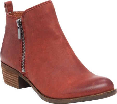 Brand Oxblood Lucky Boot Women's Leather Basel PRnwwdpx0