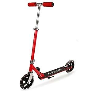 Coorun Big Wheel Scooter Roller 205 - Patinete plegable de ...