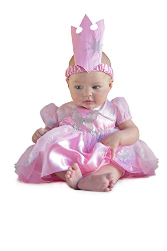 Princess Paradise Baby's The Wizard Of Oz Glinda Newborn Costume, Pink, 3 to 6 (Glinda Wizard Of Oz Halloween Costume)