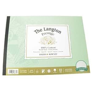 "Daler-Rowney The Langton Prestige Cold Press (""Not"") Watercolour Pad 12x9"" (12 Sheets)"