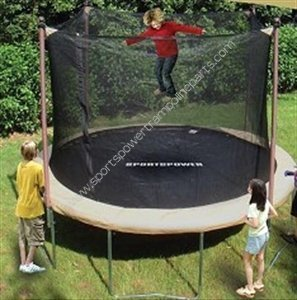 Trampoline Enclosure Mesh Net ONLY for 11' Sportspower Model Tr-132-3348 - OEM Equipment by Sportspower