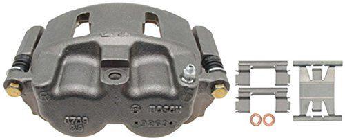 ACDelco 18FR2118 Professional Front Driver Side Disc Brake Caliper Assembly without Pads (Friction Ready Non-Coated), Remanufactured ()