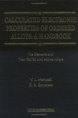 Calculated Electronic Properties of Ordered Alloys: A Handbook - The Element and Their 3D/3D and 4D/4D Alloys