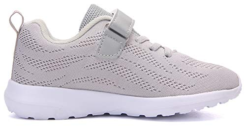 Pictures of Boy's Girl's Lightweight Walking Sneakers Gray1 4.5 M US Big Kid 6
