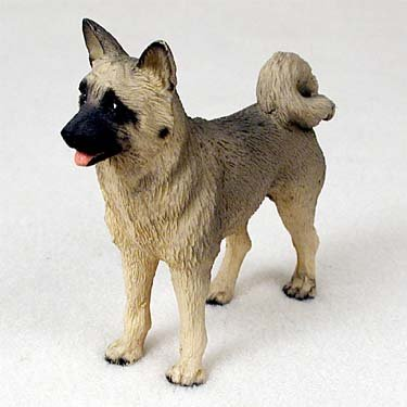 Akita Fawn Standard Figurine (Set of (Akita Fawn Figurine)