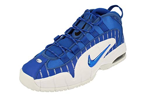 Nike Air Max Penny Mens Basketball Trainers AV7948 Sneakers Shoes (UK 9 US 10 EU 44, Game Royal White 400)