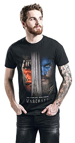 Warcraft Two Worlds - One Home T-Shirt schwarz S