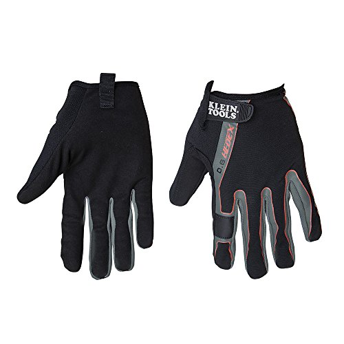 High Dexterity Touchscreen Gloves, L Klein Tools ()