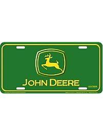 John Deere Auto Tag - Stamped Metal