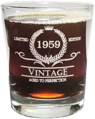 Engraved Hi-Ball Rocks Glass Orange Kat 30th Birthday Permanently Etched Vintage 1989 Special Edition Aged To Perfection Fun /& Unique Gift 13 Oz