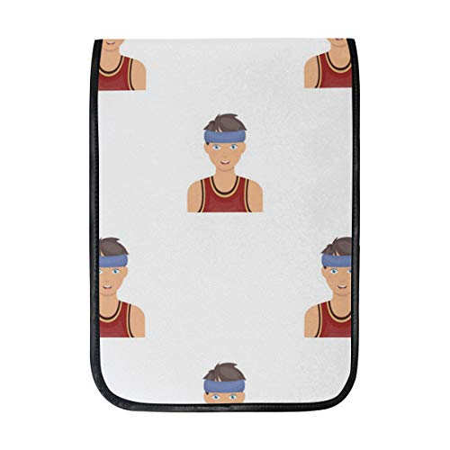 12 Inch Ipad IPad Pro Laptop Sleeve Canvas Notebook Tablet Pouch Cover for Homeschool, Travel, Etc Oen Goaliath Basketball