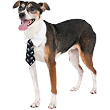 Skull Print Tie for Pet, Large/X-Large