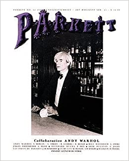 parkett issue no 12 collaboration andy warhol