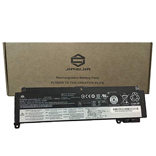 JIAZIJIA Compatible Laptop Battery with Lenovo 00HW025 [11.4V 24Wh 2065mAh] ThinkPad T460S T470S Series Notebook SB10F46463 Black - 1 Year Warranty by JIAZIJIA (Image #3)