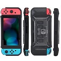 Funda Carcasa Protectora Para Nintendo Switch Uso Rudo Contra Golpes de acrilico Y Compartimientos Para Juegos