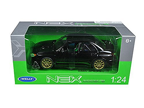 welly-2005-subaru-impreza-wrx-sti-1-24-scale-diecast-model-car-black