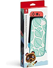 Nintendo Switch Animal Crossing: New Horizons Aloha Edition Carrying Case & Screen Protector