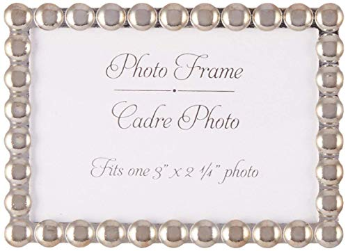 96 Silver Pearls Mini Photo Frame Place Card Holders