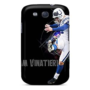 Samsung Galaxy S3 QJx8775HJEZ Allow Personal Design Vivid Indianapolis Colts Pictures Bumper Cell-phone Hard Covers -JasonPelletier hjbrhga1544