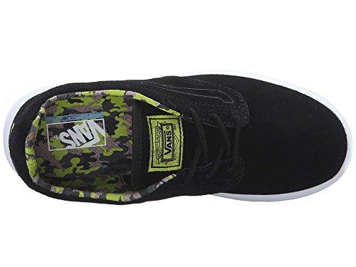 Vans - zapatos Unisex adulto , negro (negro), 31,5 negro