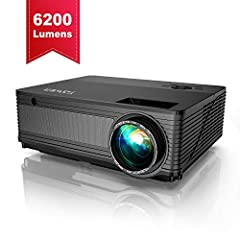 🌷🌷🌷🌷🌷🌷 Specification: 🌻Model: Y21 Display Technology: LCD LED Brightness: 6200 lumens Native Resolution: 1920*1080P (Supported 4k UHD) Contrast Ratio: 7000: 1 Keystone Correction: ± 15°Reduce Zoom Range:-50%Lamp Life: 100000 hours Aspect Rati...