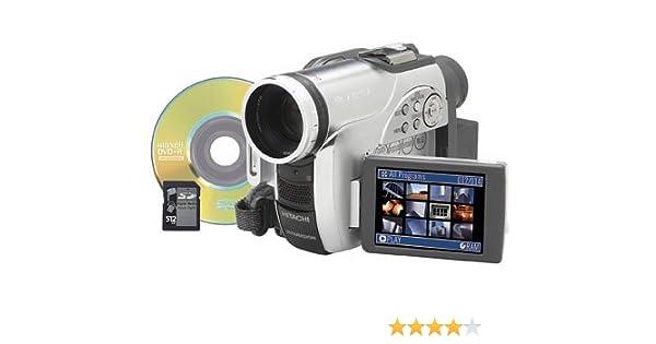 amazon com hitachi dz gx20ma 2 1 mp dvd camcorder w 10x optical rh amazon com Hitachi TV Manuals Hitachi DVD Cam Software