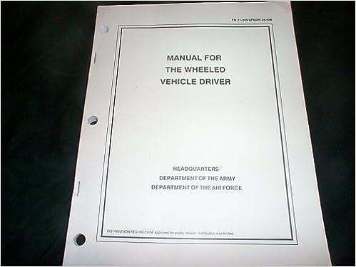 afman 24 306 manual for wheeled drivers