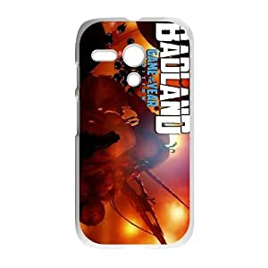 Motorola G Cell Phone Case White BADLAND Game of the Year Edition LV7118832