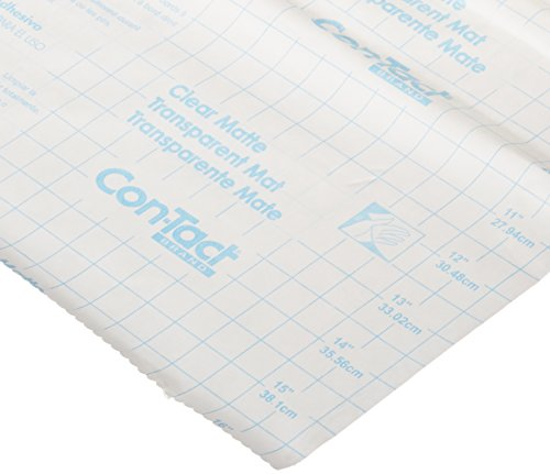 Con-Tact Brand Clear Covering Self-Adhesive Privacy Film and Liner, 18-Inches