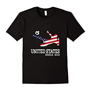 USA National Soccer and Futbol Support T Shirt