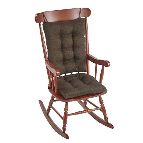 The Gripper Non-Slip Omega Jumbo Rocking Chair Cushions, Chestnut (Rockingchairs)