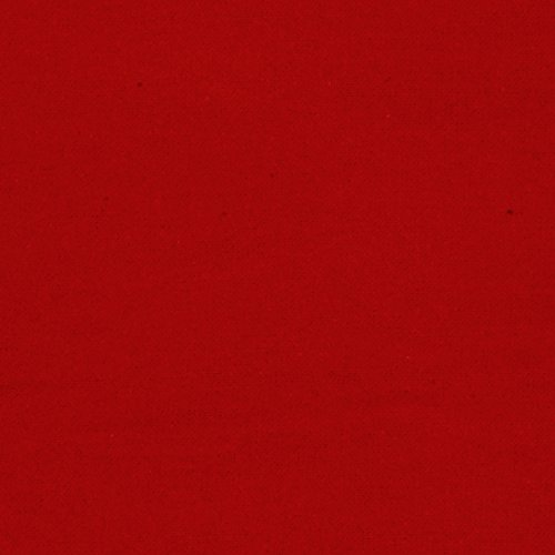 Alpine Flannel Solid Red Fabric By The Yard