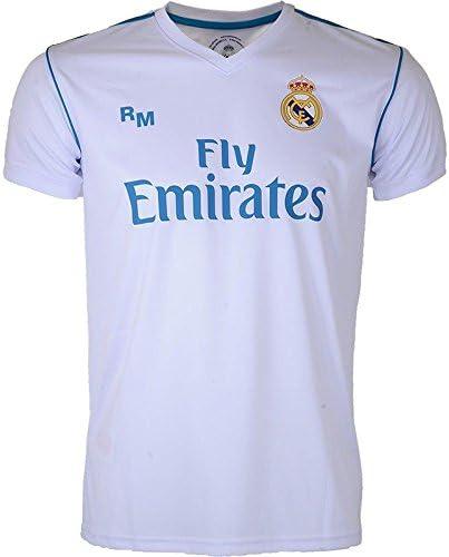 Real Madrid Replica hogar – Camiseta de fútbol para Hombre: Amazon.es: Ropa y accesorios