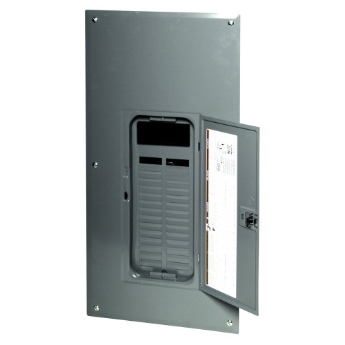 (Square D by Schneider Electric QO130M200PC Square D Pon Convertible Mains Load Center, 120/240 Vac, 200 A, 1 Phases, 22000 Air Interrupt,)